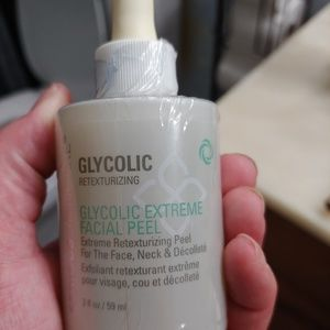 Serious skin care glycolic facial peel *brand new*